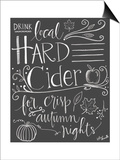 Hard Cider Posters by Katie Doucette