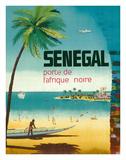 Senegal, Africa - Porte de L'Afrique Noire (Gateway to Sub-Saharan Africa) Giclée-tryk af Pacifica Island Art