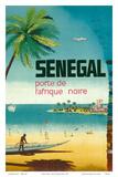 Senegal, Africa - Porte de L'Afrique Noire (Gateway to Sub-Saharan Africa) Plakater af Pacifica Island Art