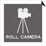 Roll Camera Print by Linda Woods