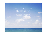 The Sea and Me Prints by Susannah Tucker