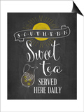Sweet Tea Poster by Amy Cummings