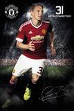Manchester United- Schweinsteiger 15/16 Plakaty