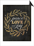 Peace Love and Joy Posters by Jennifer Pugh