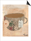 You Me and Tea Print by Katie Doucette