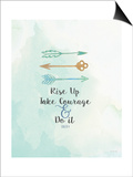 Take Courage Posters by Jo Moulton