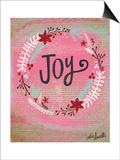 Joy Wreath Art by Katie Doucette