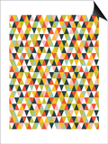 Alphabet Diamond Pattern Posters by Tamara Robinson