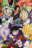 Dragonball Z- Cell Saga Kunstdruck