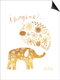 Imagine Elephant Posters by Katie Doucette
