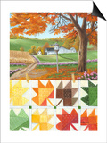 Maple Leaf Quilt Prints by Julie Peterson