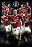 Manchester United- Players 15/16 Bilder