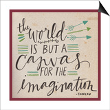 Canvas for the Imagination Posters by Katie Doucette