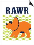 Dino Rawr Posters by Tamara Robinson
