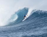Fiji pro Surfing Photo by Steve Robertson