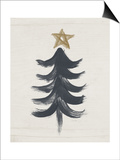 Black and Gold Tree I Posters by Linda Woods