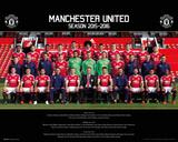 Manchester United- Team 15/16 Affiches