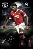 Manchester United- Martial 15/16 Plakat