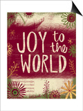 Joy to the World Prints by Katie Doucette