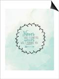 Never Prints by Jo Moulton