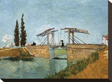 Bridge Stretched Canvas Print by Vincent van Gogh