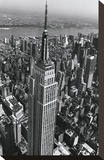 Empire State Building Stretched Canvas Print by Christopher Bliss
