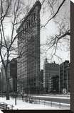 Flatiron Building Stretched Canvas Print by Chris Bliss