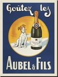 Goutez les Aubel & Fils Impressão em tela esticada