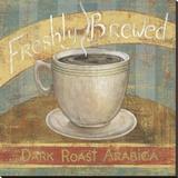 Fresh Brew I Stretched Canvas Print by  Daphné B