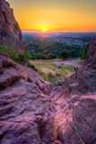 Sunrise over Boulder, Co Photographic Print by Dean Fikar