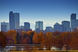 City of Denver Skyline Photographic Print by  duallogic