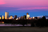 Denver Colorado Skyline Photographic Print by  jmeccadesign
