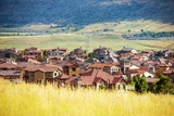 Denver Metro Residential Area Photographic Print by  duallogic