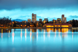 Downtown Denver, Colorado Photographic Print by  photo ua