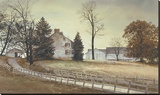 Late October Stretched Canvas Print by Ray Hendershot
