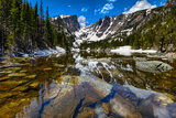 Dream Lake at the Rocky Mountain National Park, Colorado, USA Photographic Print by Nataliya Hora
