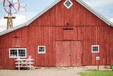 Red Barn Photographic Print by  urbanlight