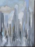 Midtown Towers Lærredstryk på blindramme af Gregory Lang