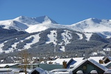 Breckenridge Ski Slopes Reproduction photographique par  duallogic