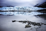 Alaska Glacier Lake - Wide Angle View Photographic Print by  Leieng