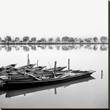 Reflection Stretched Canvas Print by Harold Silverman