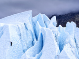 Ice Climber on Glacier Photographic Print by  Leieng