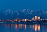 Anchorage Skyline Photographic Print by  JCB5754
