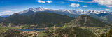 Panoramic View of Rocky Mountains from Prospect Mountain, Estes Park, Colorado, USA Photographic Print by Nataliya Hora