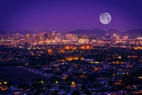 Phoenix Arizona Skyline Reproduction photographique par  duallogic