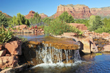 A Little Cascade on A Sunny Sedona Day Photographic Print by  neilld