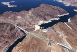 Hoover Dam, Colorado Grand Canyon, Arizona, Usa Photographic Print by  isogood
