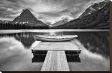 Two Medicine Lake Reproducción en lienzo de la lámina por Jason Savage