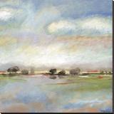 Quiet Journey Stretched Canvas Print by T.J. Bridge