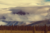 Landscapes on Denali Highway, Alaska. Instagram Filter. Photographic Print by Andrushko Galyna